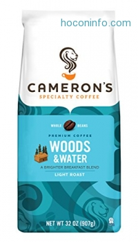 ihocon: Cameron's Whole Bean Coffee, Woods & Water, 32 Ounce Bag (packaging may vary)