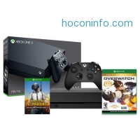 ihocon: Xbox One X 1TB Console + Overwatch: GOTY Edition (Disk) + PUBG (Email Delivery)