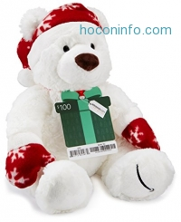 ihocon: Amazon.com Gift Card with a Holiday Teddy Bear - Limited Edition