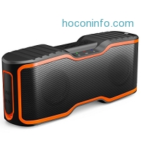 ihocon: AOMAIS Sport II Bluetooth Speakers 4.0 with Waterproof IPX7,20W Bass Sound,Stereo Pairing