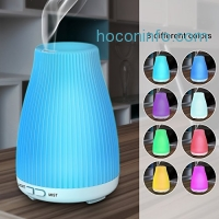 ihocon: BAXIA TECHNOLOGY 100ml Ultrasonic Essential Oil Diffuser / Cool Mist Humidifier with 7 Color LED Lights