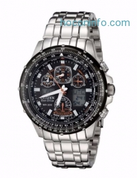 ihocon: Citizen 星辰光動能男錶 Eco-Drive Men's Skyhawk GMT Atomic Chronograph Watch JY0000-53E