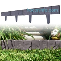 ihocon: 10 Piece Cobblestone Flower Bed Border by Pure Garden