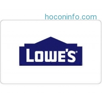 ihocon: 買$200 Lowe's Gift Card送$25 - Fast Email delivery