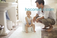 ihocon: BABYBJORN Potty Chair, White幼兒坐便椅