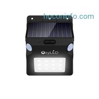 ihocon: OxyLED OxySol SL07 Dual Motion Sensors Solar Wall Light太陽能動作感應庭園燈