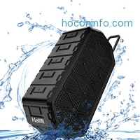 ihocon: HaMi IP66 Waterproof Bluetooth Speaker with Mic藍芽無線麥克風喇叭