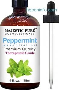 ihocon: Majestic Pure Peppermint Essential Oil, Premium Quality, 4 fl. oz. 精油