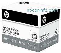 ihocon: HP Paper, Everyday Copy and Print Poly Wrap, 20lb,  8.5 x 11, Letter, 92 Bright, 2400 Sheets / 6 Ream Case (200010C) Made In The USA