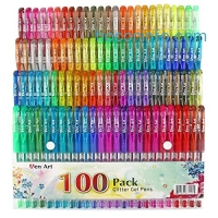 ihocon: Aen Art Set of 100 Unique Colors Glitter Pens
