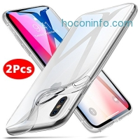 ihocon: Soft TPU iPhone X Case, 2 Pcs 手機套