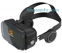 ihocon: Pasonomi VR XMAS - Virtual Reality Headset with Stereo Headphone Speaker 虛擬實境頭戴顯示器