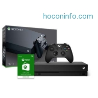ihocon: Xbox One X 1TB Console + Xbox Gift Card $50