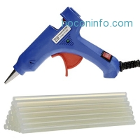 ihocon: Coocheer 20 Watts Mini Hot Glue Gun with 25 Pieces Melt Glue Sticks