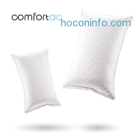 ihocon: Comfortac Premium Memory Foam Pillow w/ Removable 100% Cotton Case記憶棉枕頭