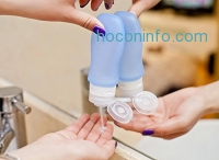 ihocon: Meyoung Soft Silicone Travel Bottles Set (3 oz / pc, 4 pcs)旅行用矽膠收納瓶4個