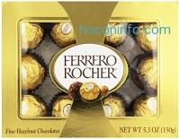 ihocon: Ferrero Rocher, 12 Count (Pack of 6)