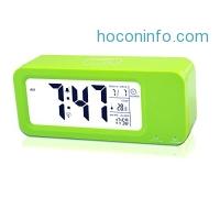 ihocon: Travel Alarm Clock Rechargeable, Samshow Digital Clock 多功能顯示鬧鐘