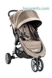 ihocon: Baby Jogger 2016 City Mini 3W Single Stroller - Sand/Stone