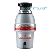 ihocon: Waste King Legend Series 1/2 HP Continuous Feed Operation Garbage Disposal - (L-2600)