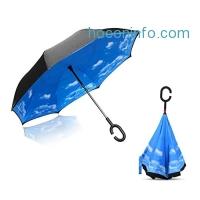 ihocon: Holidayli UV Protection Double Layer Inverted Umbrella防紫外線反向傘