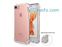 ihocon: iPhone 7手機套 Case With Drop Protection/Shock Absorption - Crystal Clear