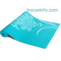 ihocon: Tone Fitness 24 x 68 Yoga Mat, 5mm Thick