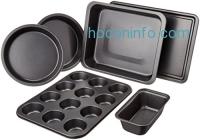 ihocon: AmazonBasics 6-Piece Bakeware Set烤盤組