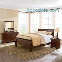 ihocon: Signature Design by Ashley® Rudolph Bedroom Package + FREE Sierra Sleep Plush Mattress Set - JCPenney