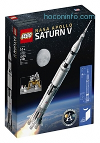 ihocon: LEGO Ideas NASA Apollo Saturn V 21309 Building Kit