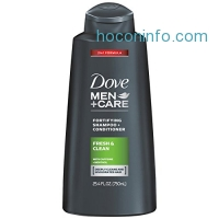 ihocon: Dove Men+Care 2 in 1 Shampoo and Conditioner, Fresh and Clean, 25.4 Fluid Ounce (Pack of 4)