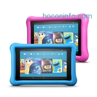 ihocon: Fire 7 Kids Edition Tablet Variety Pack, 16GB (Blue/Pink) Kid-Proof Case
