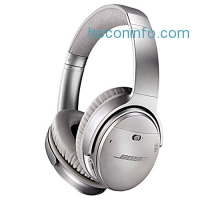 ihocon: Bose QuietComfort 35 Wireless Headphones, Silver