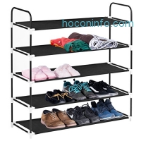 ihocon: MaidMAX 5 Tiers Metal Shoe Rack五層金屬鞋架