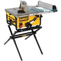 ihocon: DEWALT DWE7480XA 10-Inch Compact Job Site Table Saw with Guarding System and Stand