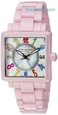 ihocon: Stuhrling Original Women's 'Vogue' Swiss Quartz Stainless Steel Casual Watch (Model: 149L4.12OOA4)