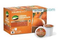 ihocon: Green Mountain Coffee Pumpkin Spice, Keurig K-Cups, 72 Count