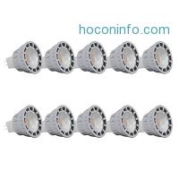 ihocon: JACKYLED MR16 7.5W LED Bulb, Pack of 10, Warm White 3000K, 7.5W = 60W Equivalent