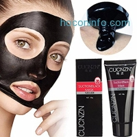 ihocon: Blackhead Remover Mask,Black Head Facial Mask Deep Cleansing Purifying Peel-off Mask,Black Mud Face Mask,Blackhead Cleansing Mask