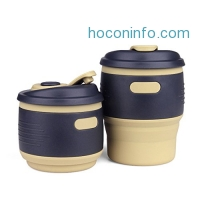 ihocon: XREXS Food-Grade Silicone Collapsible Coffee Mug