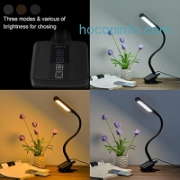 ihocon: ANNT Dimmable 3 Modes and 5 Level of Brightness Eyecare LED Table light光線微調夾式護眼桌燈