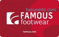 ihocon: Famous Footwear Gift Cards - E-mail Delivery