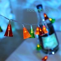 ihocon: LANGRIA Multi-Color LED Battery Powered Bells String Lights多色裝飾燈聖誕燈使用電池