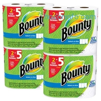 ihocon: Bounty Select-a-Size Paper Towels, White, Huge Roll, 8 Count