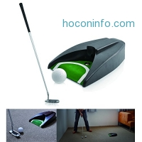 ihocon: LEAGY Portable Golf Putter Practice Putting Set高爾夫球推桿練習組