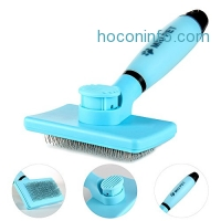 ihocon: Self-Cleaning Slicker Brush for Dogs-by MIU PET寵物理毛刷