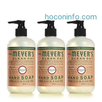 ihocon: Mrs Meyers Hand Soap, Geranium, 12.5 Fluid Ounce (Pack of 3)