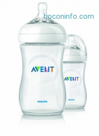 ihocon: Philips Avent BPA Free Natural Polypropylene Bottle, 9 Ounce, 2 Count