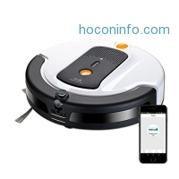 ihocon: Xshuai Self Charging Vacuum Cleaner with WIFI, Built-in Camera and Amazon Alexa Support智能吸地機器人
