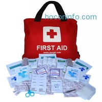 ihocon: Premium First Aid Kit Bag 108 pieces, with CPR Face Mask 急救包